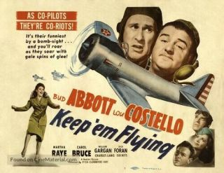 16mm Keep Em Flying Feature Movie Vintage 1941 Comedy Abbott & Costello