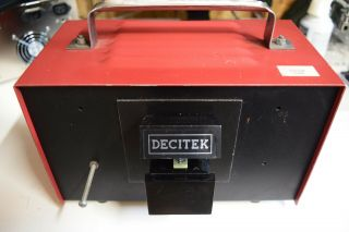Decitek Dec Pdp - 8/e Vintage Paper Tape Reader