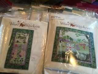 Wind In The Whiskers Full Quilt Kit Rare Mckenna Ryan Retired