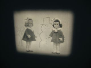 Vintage 16mm Mattel Toy Game Film Commercial - Chatty Cathy Doll A3