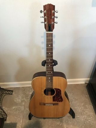 Rare Elger American Made Custom Hand Made Acoustic Guitar