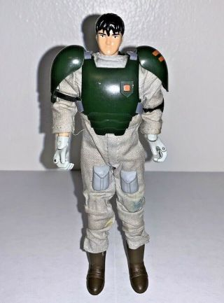 Rare Vintage Bandai 1985 Spiral Zone Protect Suit Bull Solid Act 1: 1/12 Figure