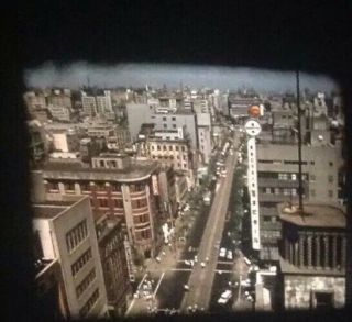 Vintage 16mm Color Home Movie 1961 My Trip To Japan Part 2 1200