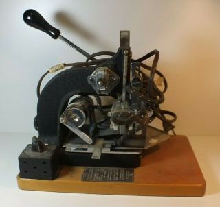 Rare Kingsley Hot Foil Stamping Machine Hollywood Ca Ms92
