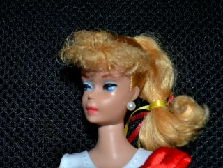 Vintage Ponytail Barbie Doll - 6 Or 7 1960s