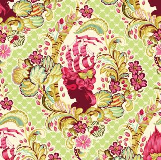 Tula Pink Parisville Cameo Fabric - Rare And Out Of Print