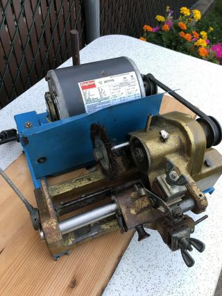 Vintage Curtis 2000k Key Machine Calibrated,  Cleaned,  Pulley,  Great