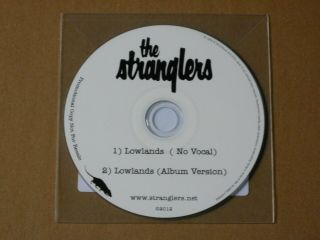 "The Stranglers "" Lowlands "" - 2 Track - 2012 - Very Rare Promo Cd Single - 20 Only"