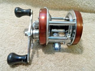 Vintage Abu Garcia Ambassadeur 5500 Rare Brown Fishing Reel High Speed Sweden