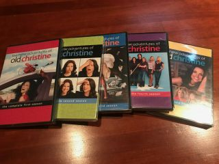 The Adventures Of Old Christine: The Complete Series Dvd Season 1 - 5 Oop Rare