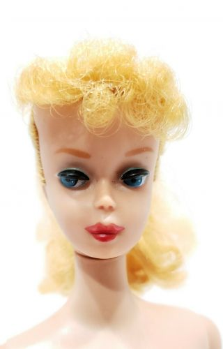 Vintage Barbie Ponytail 5 With Swimsuit,