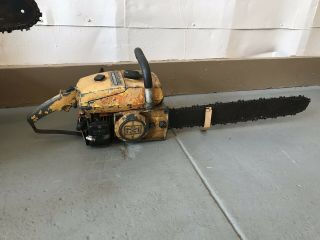 Vintage Mcculloch 7 - 10 Automatic Chainsaw