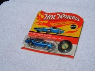 Hot Wheels Redline Olds 442 Blue (open Blister W/plastic Button) Check It Out