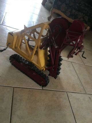 Buddy L Trench Digger Authentic Best Ive Seen