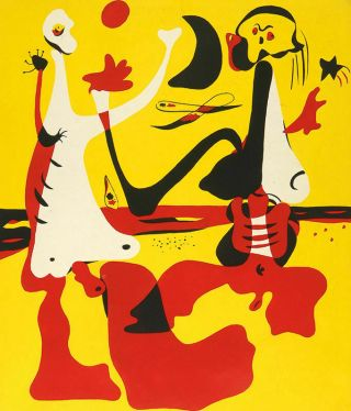 D`aci I D`alla.  Special Room.  With The Color Lithograph Of Joan Miró