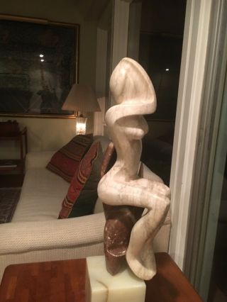 Carved Marble Statue - Contempory